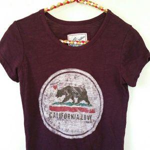 Reflex California Burgundy Purple Shirt